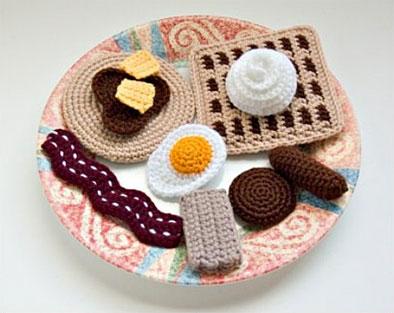 Схемы амигуруми схемы еда