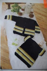 Вязаная детская кофта (оригинал)