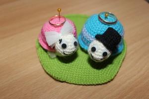 Вязаные черепашки